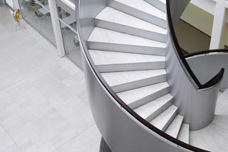 Helical stairs, Ferag  by  Nautilus
