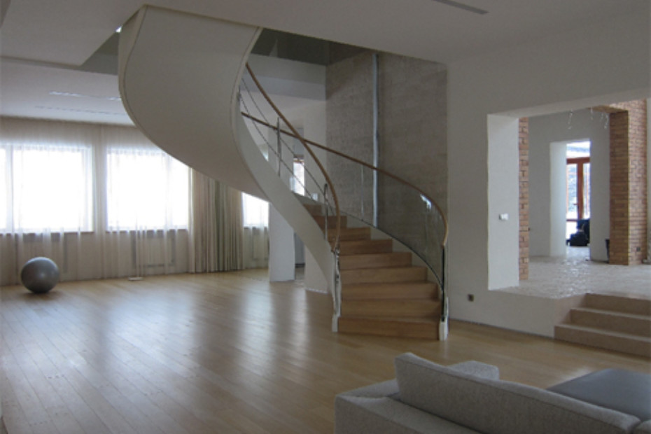 Stair railing, Moscow