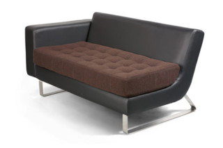 Clyde Sofa with armrests  by  naughtone