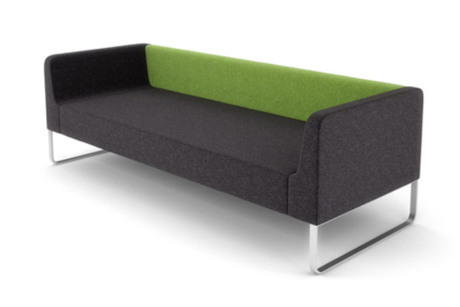 Trim Sofa on slides