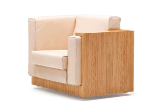 Alpha Seating armchair  by  NEUTRA by VS