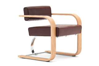 Cantilever Chair Wood  by  NEUTRA by VS