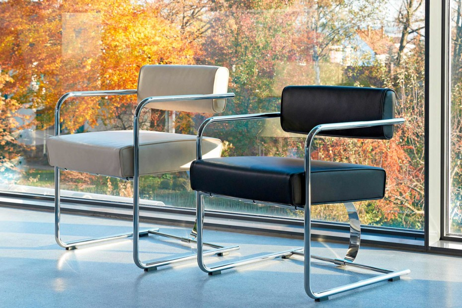 Cantilever Conference Chair Steel