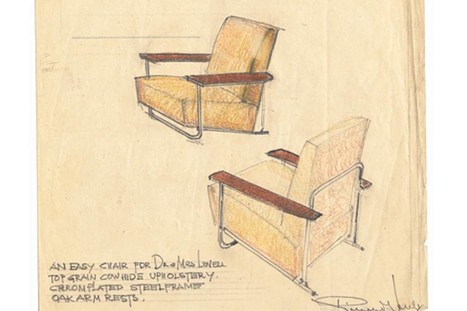 Lovell Easy Chair Steel