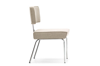 Tremain Side Chair Steel  von  NEUTRA by VS