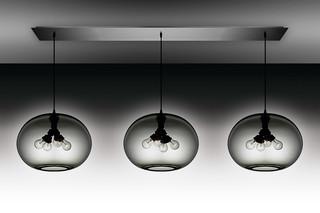 Linear 3 Modern Chandelier  by  Niche Modern