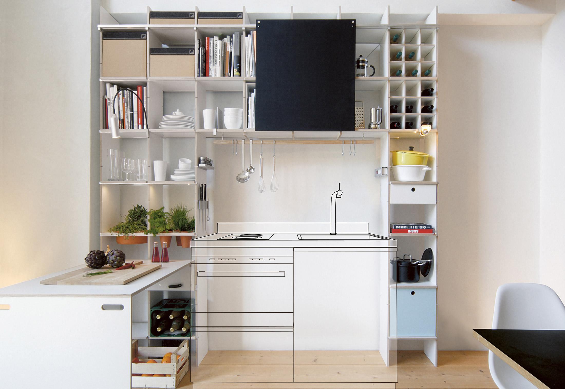 FNP kitchen by Nils Holger Moormann   STYLEPARK