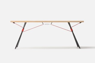 Kampenwand table  by  Nils Holger Moormann