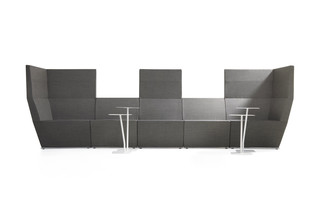 Area module high back  by  Lammhults