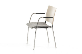 Spira with armrest  by  Lammhults