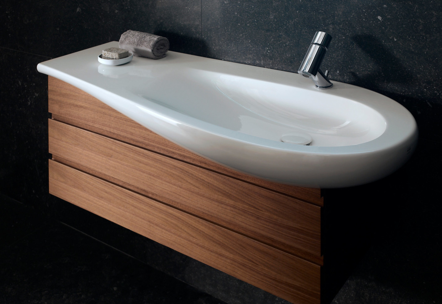 Il Bagno Alessi One Single Washbasin Under Counter By