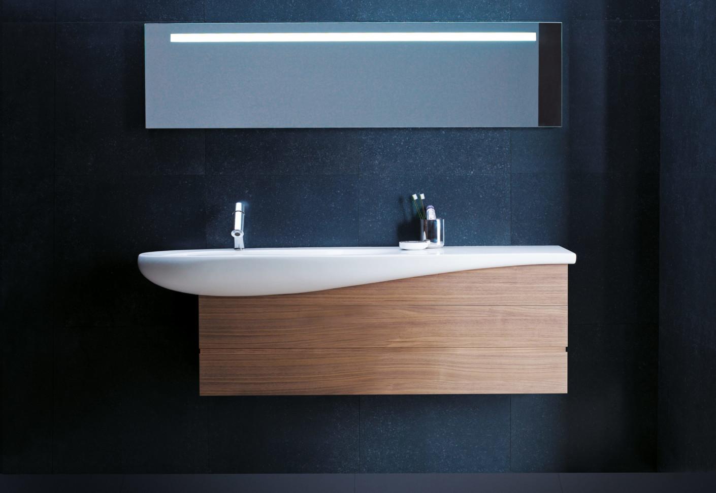 Il bagno alessi one single washbasin under counter by laufen stylepark - Bagno alessi prezzi ...
