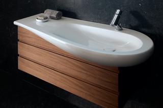 Il Bagno Alessi One single washbasin under counter  by  Laufen