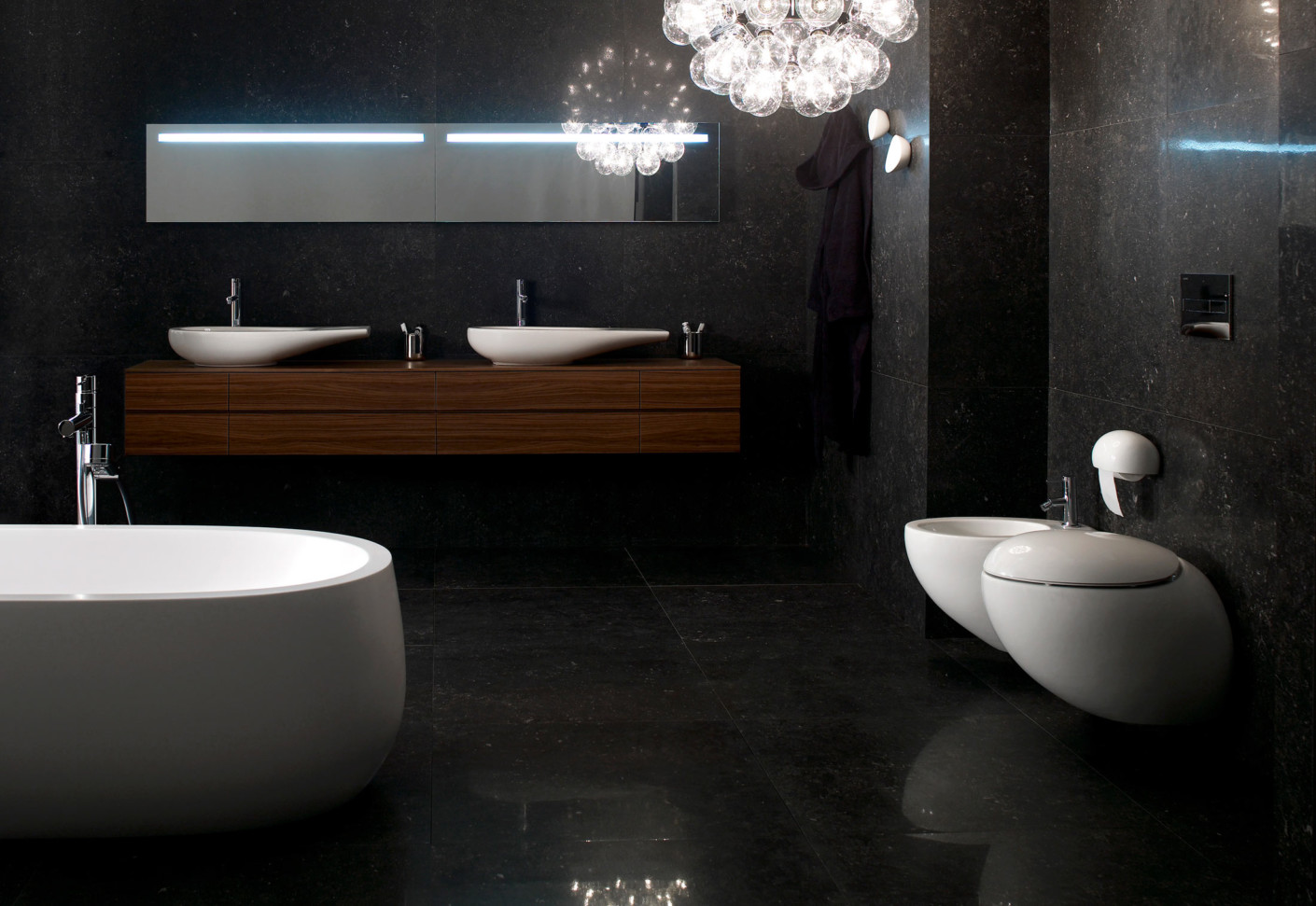 il bagno alessi one single washbasin by laufen stylepark. Black Bedroom Furniture Sets. Home Design Ideas