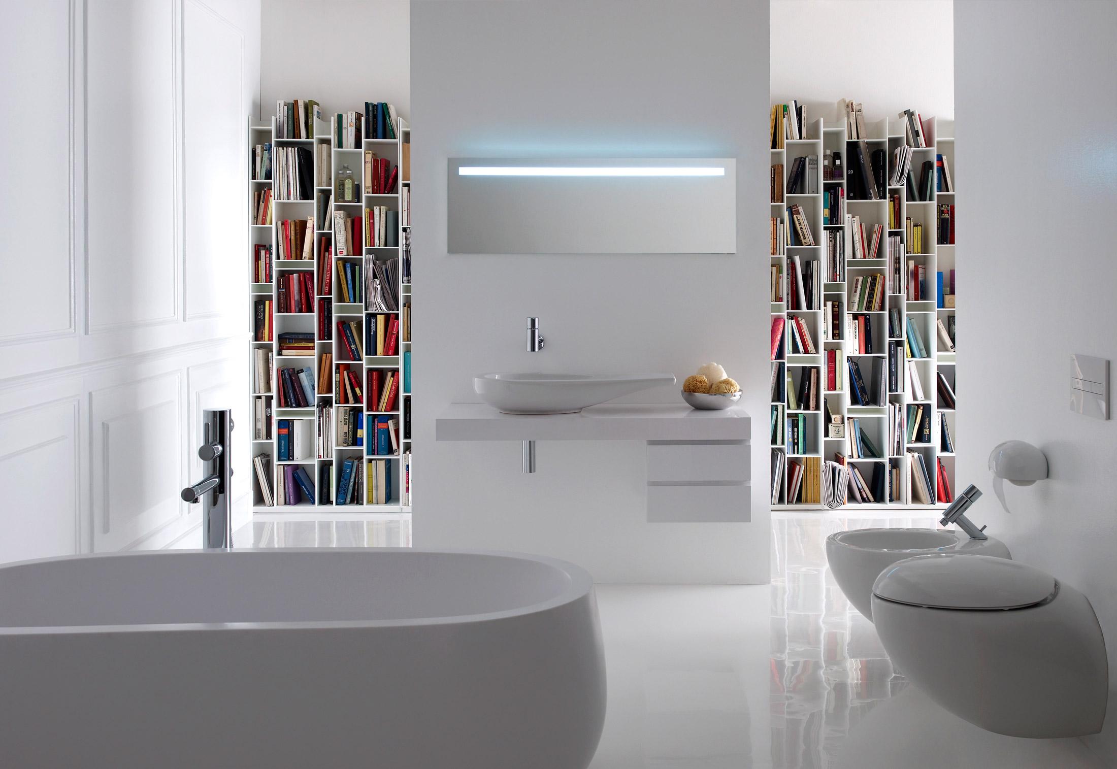 Il bagno alessi one single washbasin by laufen stylepark - Il bagno magazine ...
