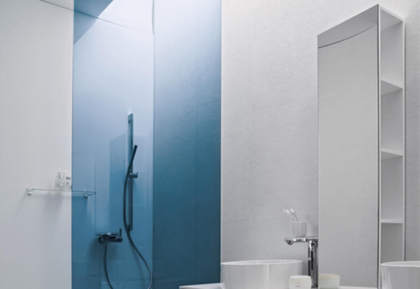 Kartell by Laufen Medium cabinet with mirror front by Laufen | STYLEPARK
