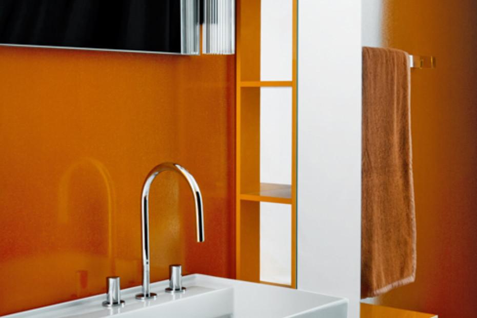 Kartell by Laufen Medium cabinet with mirror front