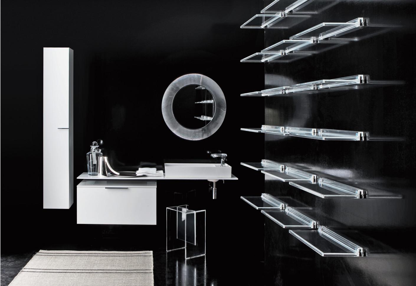 Kartell by Laufen mirror by Laufen : STYLEPARK
