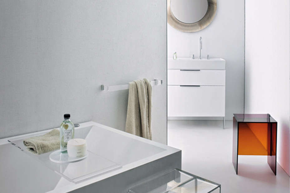 Kartell by Laufen shelf for bathtube