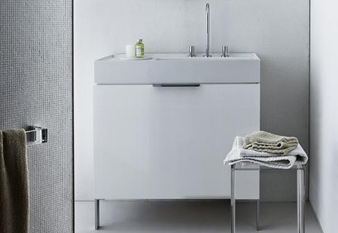kartell by laufen vanity unit by laufen stylepark. Black Bedroom Furniture Sets. Home Design Ideas