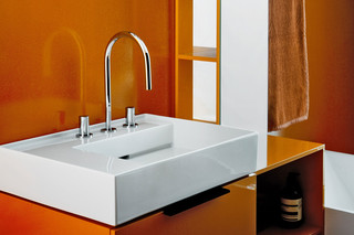 Kartell by Laufen washbasin mixer 3-hole  by  Laufen