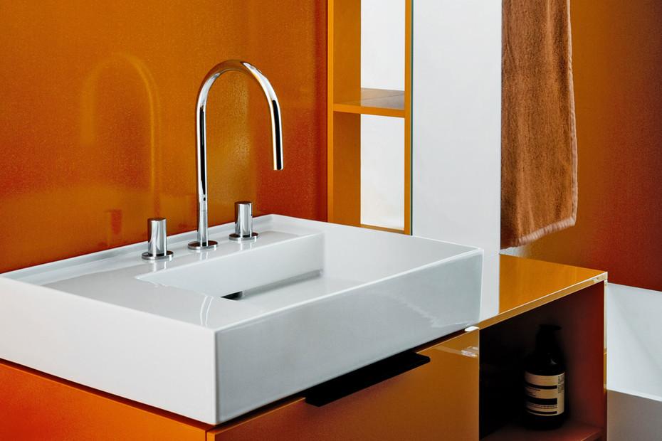 Kartell by Laufen washbasin mixer 3-hole