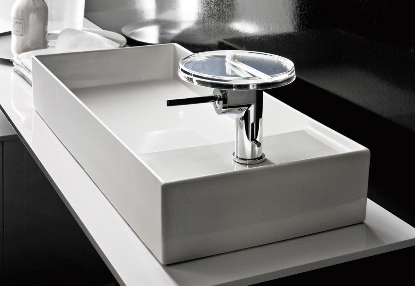 Kartell By Laufen Washbasin Mixer Disc By Laufen Stylepark