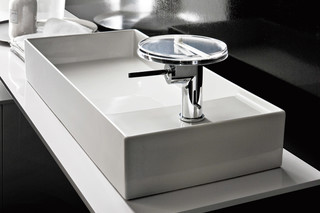 Kartell by Laufen washbasin mixer disc  by  Laufen