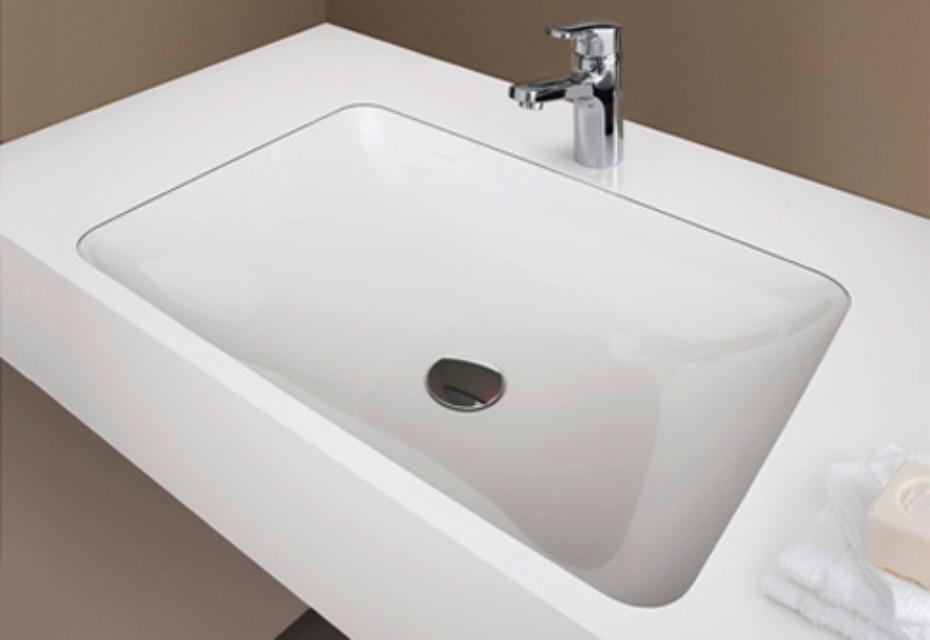 Laufen pro S washbasin rectangular built-in