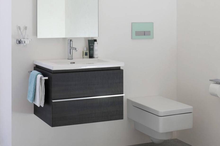 Living square vanity unit small