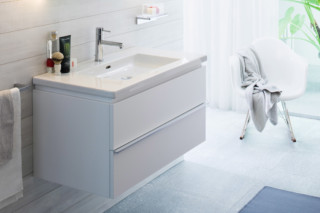 Living square vanity unit  by  Laufen