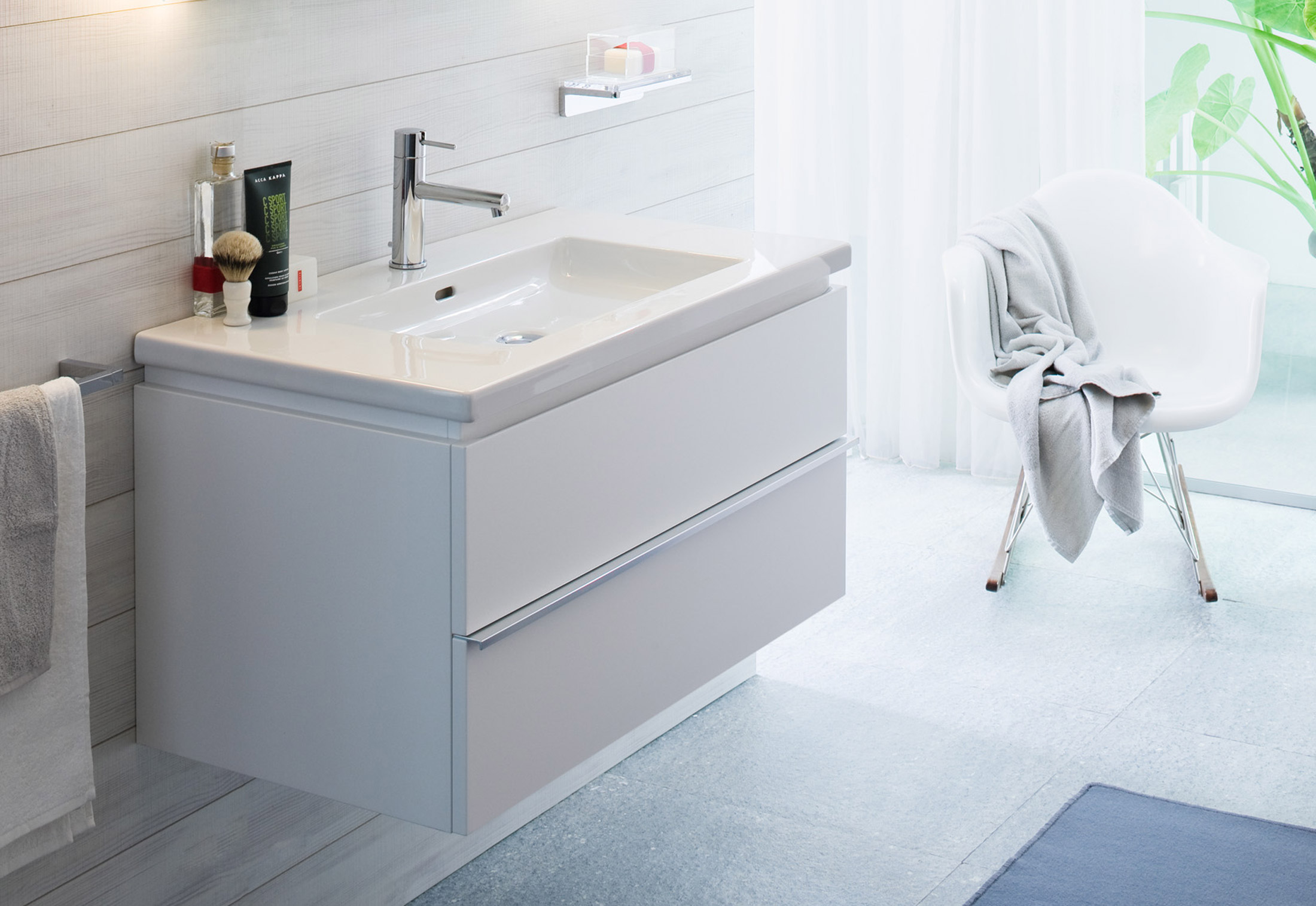Living Square Vanity Unit By Laufen Stylepark