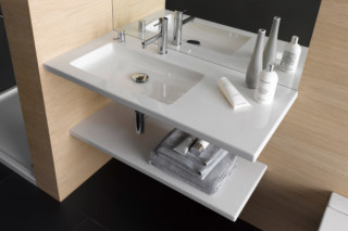 Living square washbasin  by  Laufen