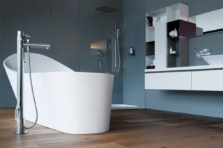 Palomba freestanding bathtub  by  Laufen