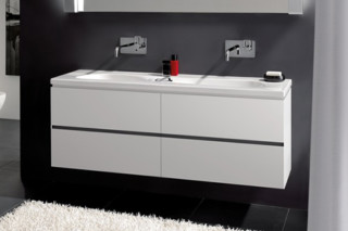 Palomba Vanity unit small with 2 drawers  by  Laufen
