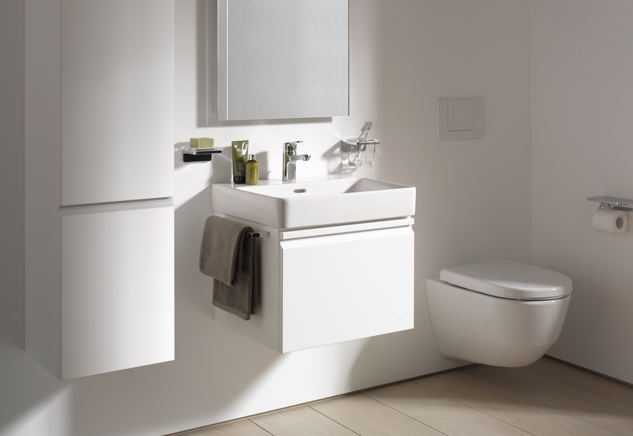 pro s waschtisch mit unterbau von laufen stylepark. Black Bedroom Furniture Sets. Home Design Ideas