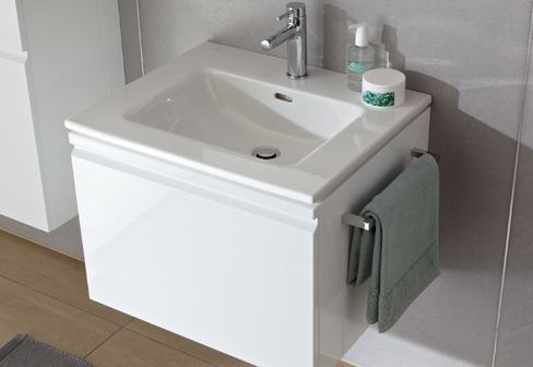 Pro s washbasin with drawer by laufen stylepark for Meuble laufen pro s