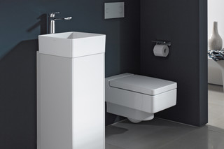 SaphirKeramik washbasin bowl square  by  Laufen