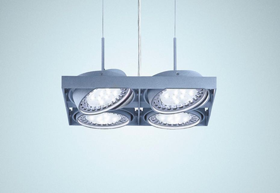 Cardan Quadrat LED
