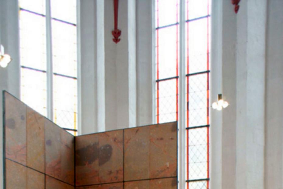 Glaskugelleuchte Marienkirche
