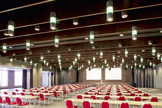 Pendant lamp congress hall  by  LFF Licht Form Funktion