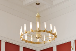 Titoff chandelier  by  LFF Licht Form Funktion