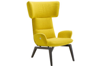 @-Chair with wooden frame  by  ligne roset
