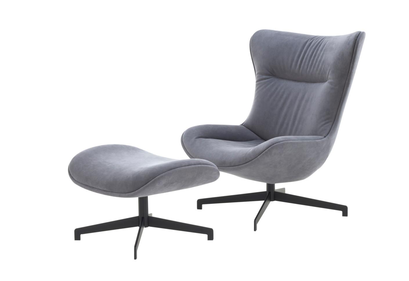 amy ottoman by ligne roset stylepark. Black Bedroom Furniture Sets. Home Design Ideas