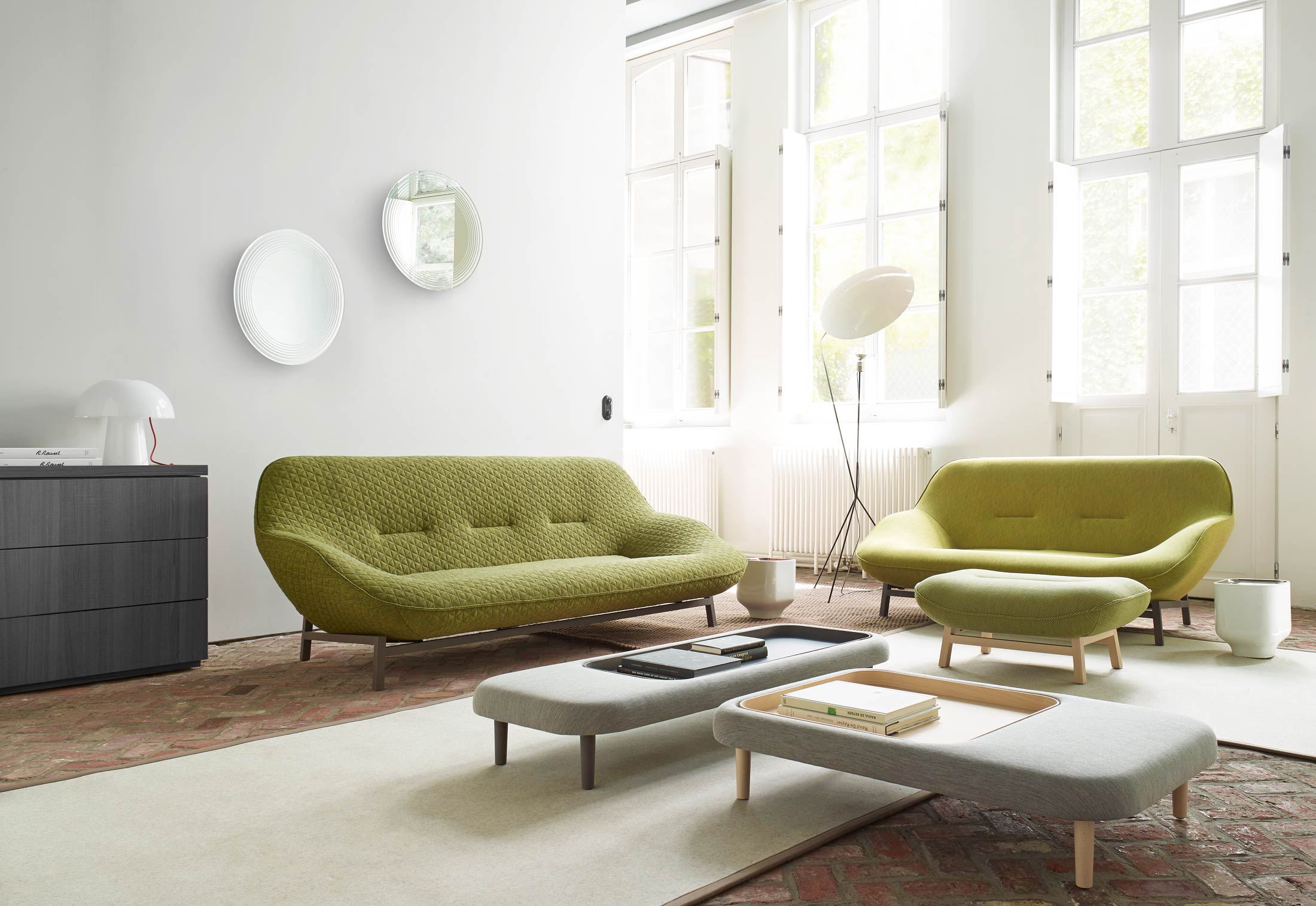 cosse 3 seater by ligne roset stylepark. Black Bedroom Furniture Sets. Home Design Ideas