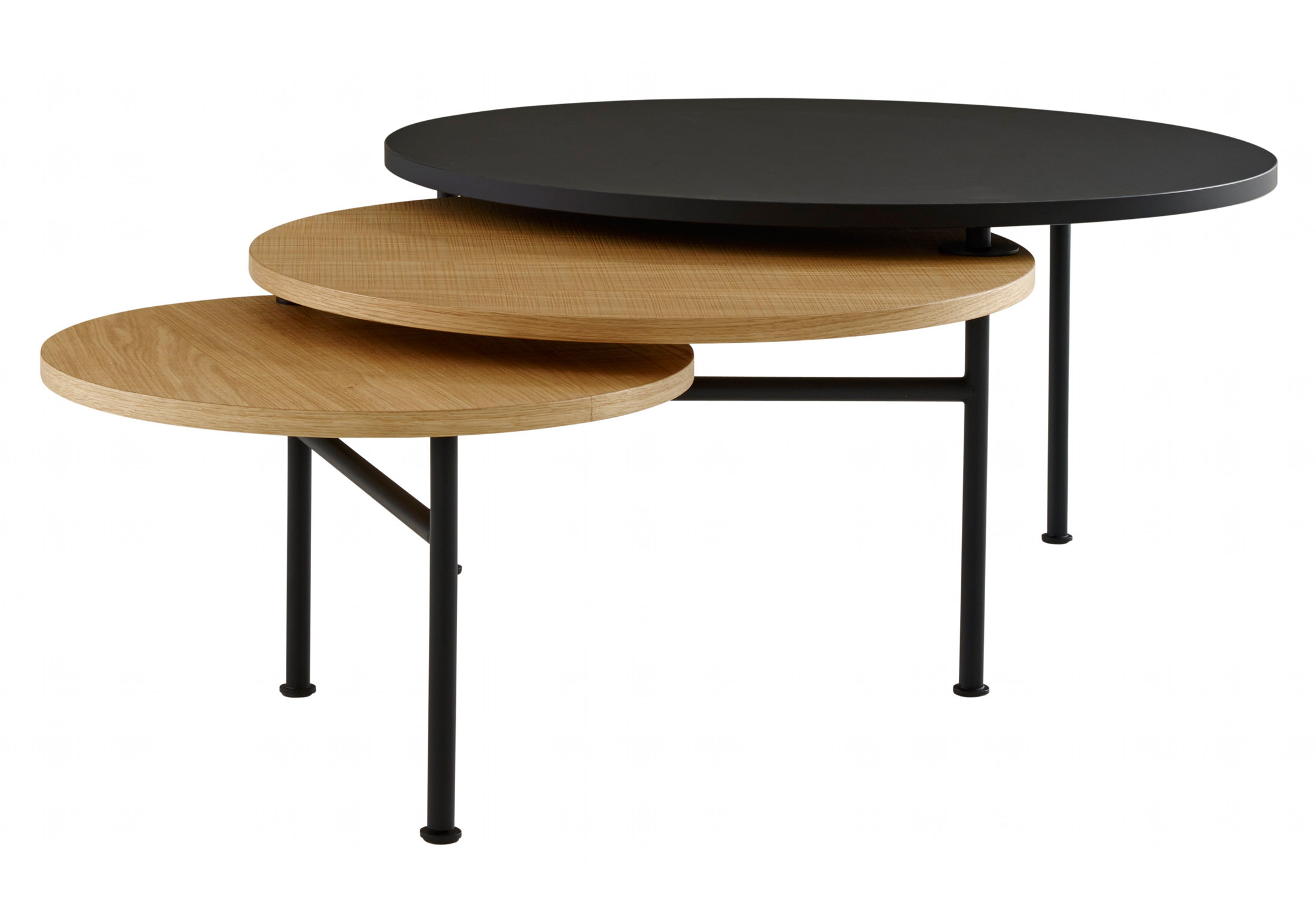 Fold by ligne roset stylepark for Table basse gigogne ronde