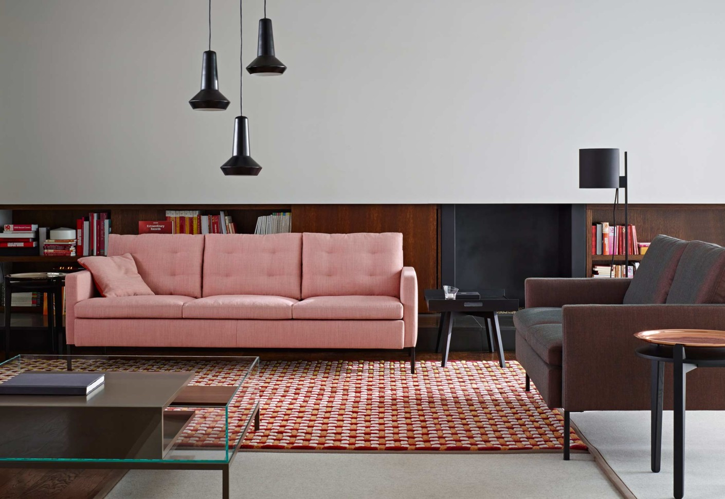 hudson sofa 3 sitzer von ligne roset stylepark. Black Bedroom Furniture Sets. Home Design Ideas