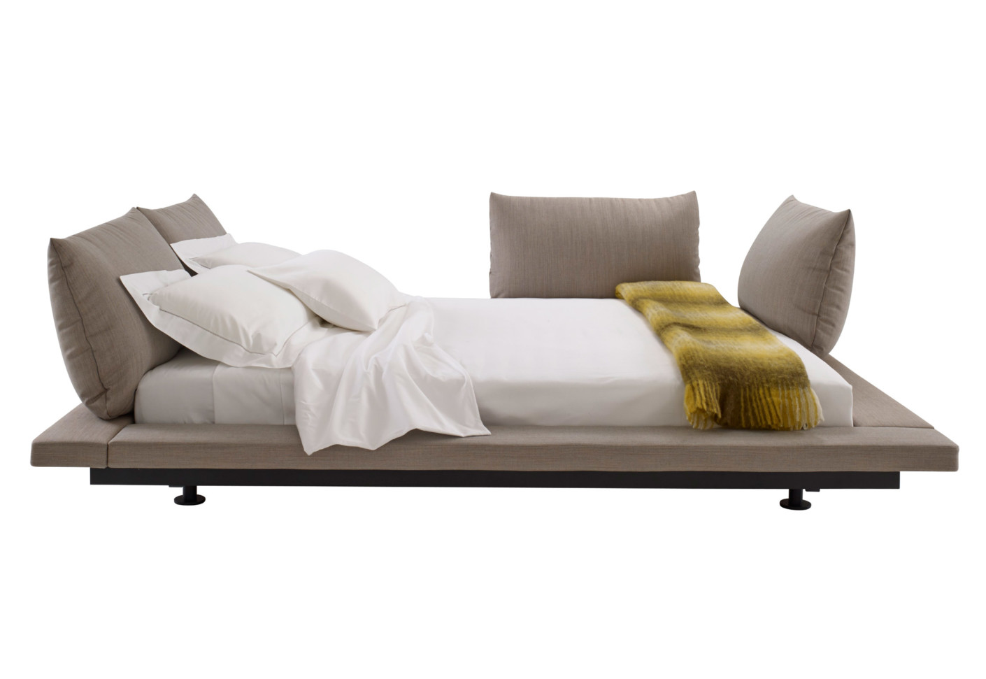 peter maly bett 2 von ligne roset stylepark. Black Bedroom Furniture Sets. Home Design Ideas