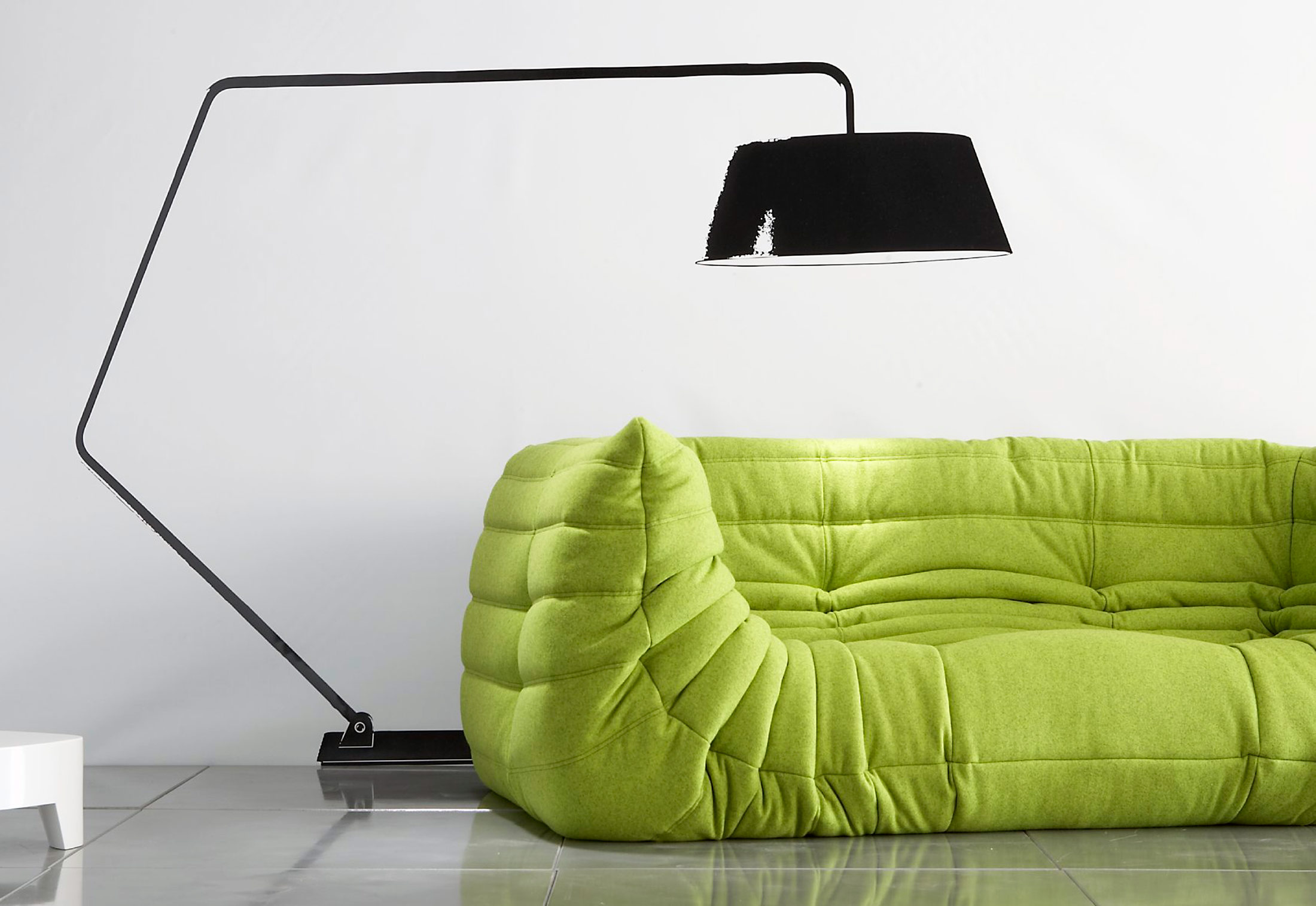 togo sofa with armrests