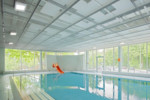 Expanded metal - Immersion ceiling  by  Lindner Group